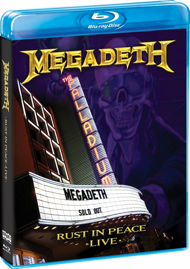Megadeth: Rust in Peace Live (2010) (BluRay 1080i)