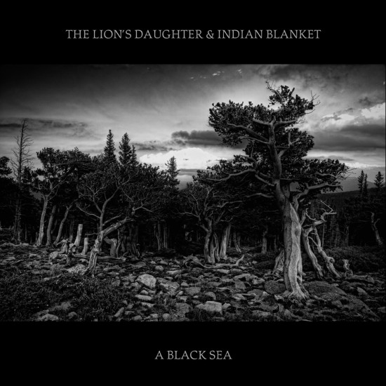 The-Lions-Daughter-Indian-lanket-A-Black-Sea