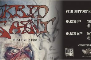 Morbid Saint live in Toronto, March 2018