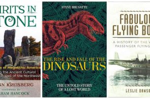 Megaliths, dinosaurs and flying boats (book reviews by Steve Earles)