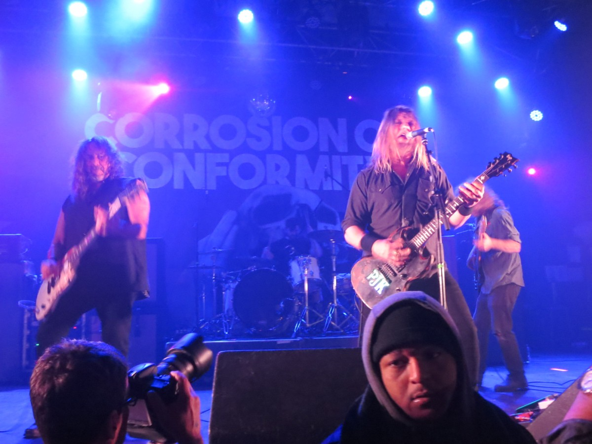 AMATEUR CONCERT PHOTOGRAPHY HOUR: COC/Crowbar/The Obsessed/Mothership @ Opera House, February 20, 2019