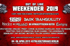 PREVIEW: Out Of Line Weekender 2019
